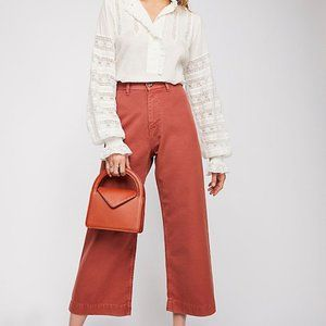 Free People We The Free Wide Leg Pants Size 29
